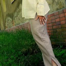 kalhoty s rozparky