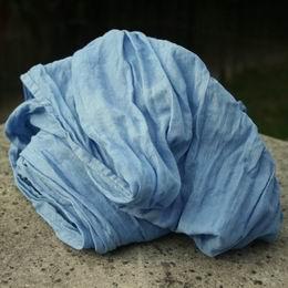 ruènì barvená bavlnìná šála