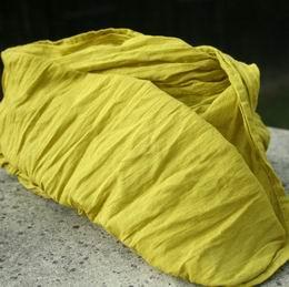 ruènì barvená krešovaná šála