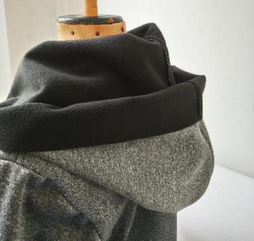 Netradièní softšílka kabát s kapucí