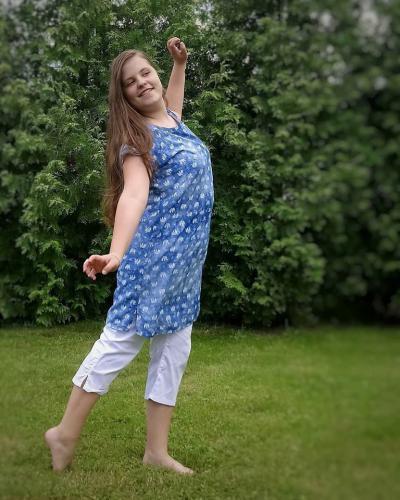 Tunika nebo šaty... se slonama - zvìtšit obrázek